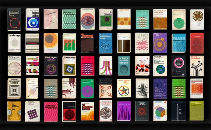 #FridayTimeWaster  – 55 Mesmerizing animations of vintage book covers